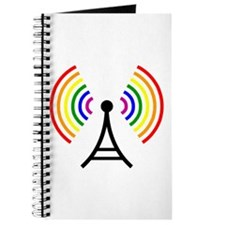 Gay WiFi Rainbow Signal Antenna Journal