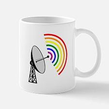 Gaydar Gay Rainbow LGBT Radar Mugs