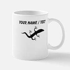 Custom Salamander Silhouette Mugs