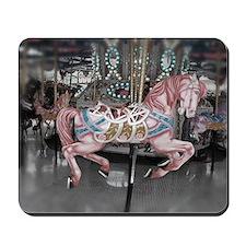 Pretty carousel horse Mousepad