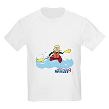 Girl Kayaking Light/Blonde T-Shirt