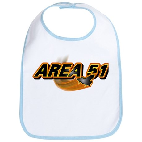 Area 51 Logo Orange Bib