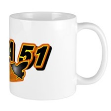 Area 51 Logo Orange Mug