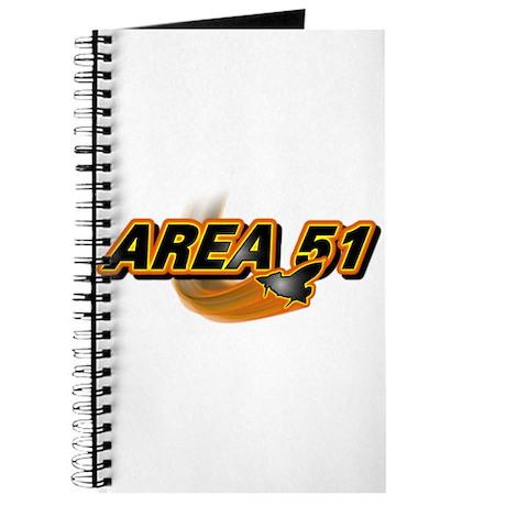 Area 51 Logo Orange Journal