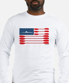 kayak_flag Long Sleeve T-Shirt