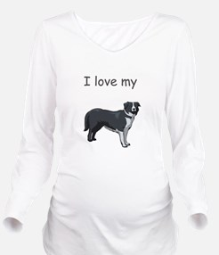 boarder-collie,i-love-my,pn.png Long Sleeve Matern