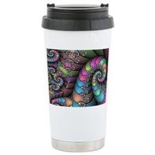 Strange twists Travel Mug