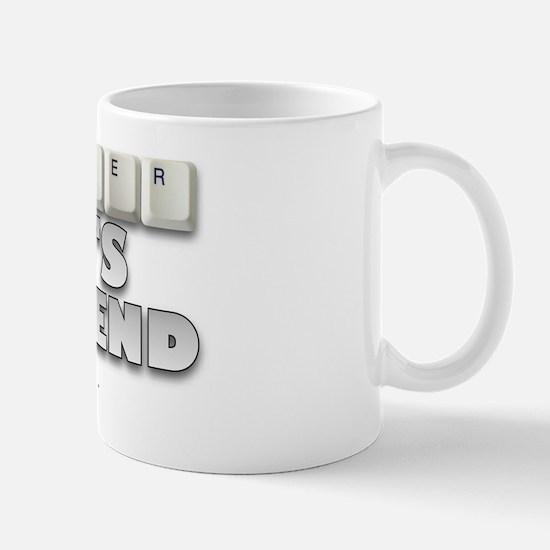 Computer Nerd's Boyfriend Mug