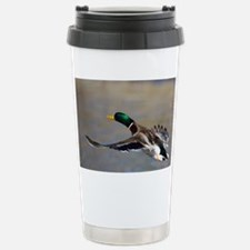 duck in flight Travel Mug