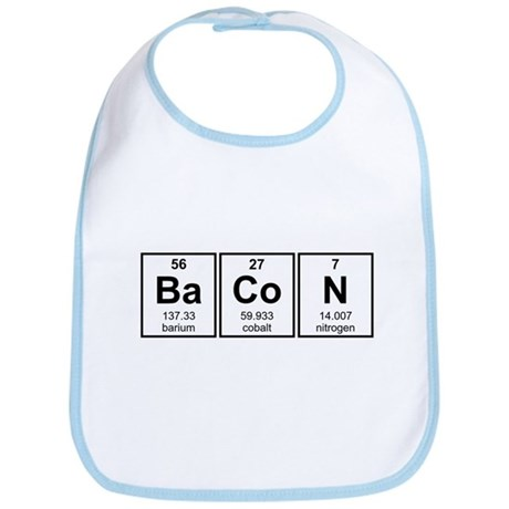 Bacon Periodic Table Element Symbols Bib