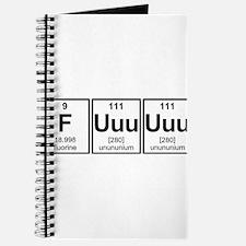 Rage Fuuuuuu Periodic Table Element Symbols Journa