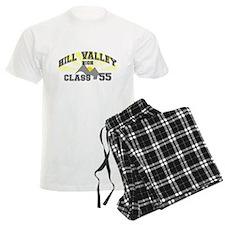 Hill Valley High BTTF pajamas