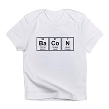 Bacon Periodic Table Element Symbols Infant T-Shir