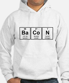 Bacon Periodic Table Element Symbols Hoodie