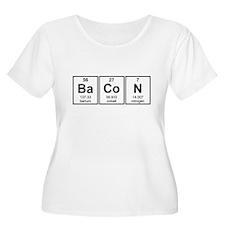 Bacon Periodic Table Element Symbols Plus Size T-S