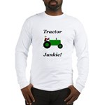 Green Tractor Junkie Long Sleeve T-Shirt