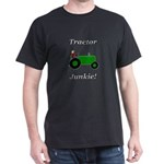 Green Tractor Junkie Dark T-Shirt