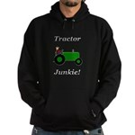 Green Tractor Junkie Hoodie (dark)