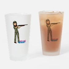 Hunter Medium Drinking Glass