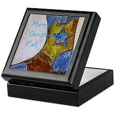 Merry Christmas Y'all Keepsake Box