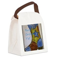 Merry Christmas Y'all Canvas Lunch Bag