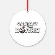Dart Chairman of the Board Ornament (Round)