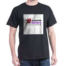 Epilepsy Moon and Back T-Shirt