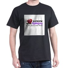 Epilepsy Moon and Back T-Shirt