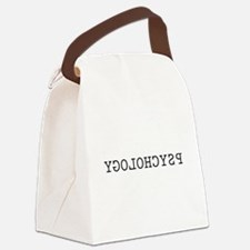 Reverse Psychology Canvas Lunch Bag