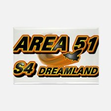Area 51 & S4 Dreamland Rectangle Magnet