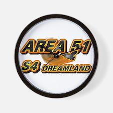 Area 51 & S4 Dreamland Wall Clock
