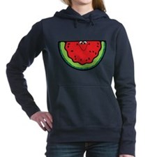 happy-watermelon.png Hooded Sweatshirt