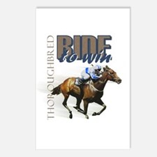Ride To Win 2 Postcards (Package of 8)
