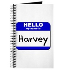 hello my name is harvey Journal