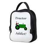 Green Tractor Addict Neoprene Lunch Bag