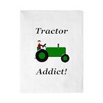 Green Tractor Addict Twin Duvet