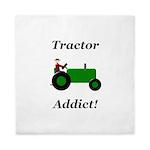 Green Tractor Addict Queen Duvet