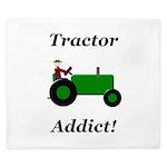 Green Tractor Addict King Duvet