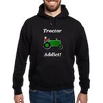 Green Tractor Addict Hoodie (dark)