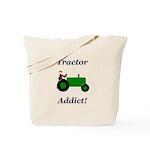 Green Tractor Addict Tote Bag
