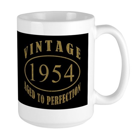 1954 Vintage Birth Year Large Mug