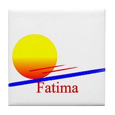 Fatima Tile Coaster