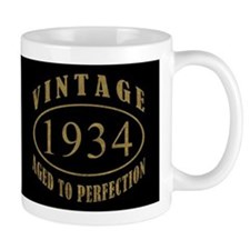 1934 Vintage Birth Year Mug
