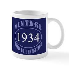 1934 Vintage Birth Year Small Mug