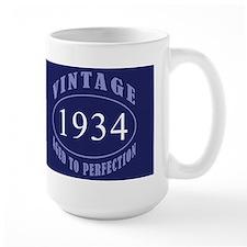 1934 Vintage Birth Year Ceramic Mugs