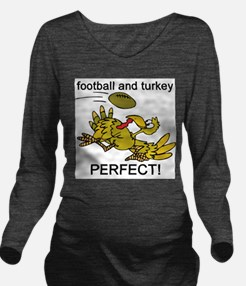 football and turkey, perfect.jpg Long Sleeve Mater
