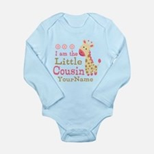 I am the Little Cousin Personalized Long Sleeve In