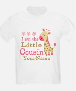 I am the Little Cousin Personalized T-Shirt