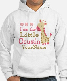 I am the Little Cousin Personalized Hoodie