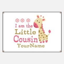 I am the Little Cousin Personalized Banner
